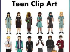 Make your back to school clip resources come to life with our Teen Clip art. Excellent to have for high school resources especially those who create resour. School Resources, Teaching Resources, New School Year, Back To School, One Drive, Mindfulness Activities, Positive Behavior, Mobile Learning, Primary Classroom