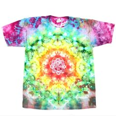 """The Tiedye Queen on Instagram: """"One of a kind Mandala Ice Dye🌈✨🧊 Save with code 22K at checkout🛒💨"""" Ice Dyeing, Trendy Tops, Mandala, Tie Dye, Coding, Queen, Instagram, Tye Dye, Mandalas"""