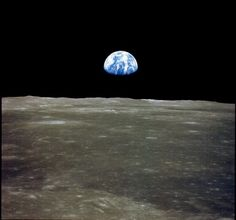 Earth From The Moon Real - Pics about space