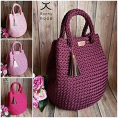 Free Crochet Bag, Crochet Tote, Crochet Handbags, Crochet Purses, Knit Crochet, Lv Handbags, Crotchet Bags, Knitted Bags, Crochet Designs