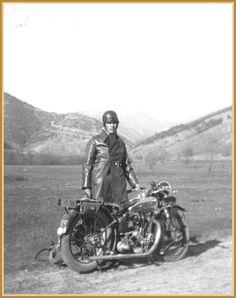 1930 Nancy, Франция - Милош Попов с Terrot HSSE