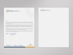 Create a professional letterhead template for a wealth advisory firm. by logodentity