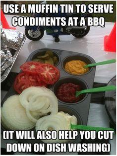 Condiment server