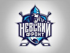 Невский фронт on behance team logo design, mascot design, hockey logos, sports logos Team Logo Design, Mascot Design, Design Logos, Sport Design, Dek Hockey, Badges, Sports Team Logos, Hockey Logos, Hockey Teams