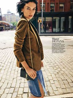 Rosemary Smith by James Macari for Glamour Spain October 2014