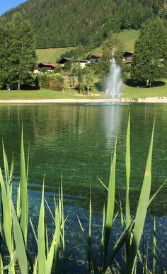 Badesee Reitdorf #visitflachau #flachau #badespaß #urlaub #sommer Austria, Waterfall, Contrast, Nature, Outdoor, Tourism, Horseback Riding, Friends, Landscape