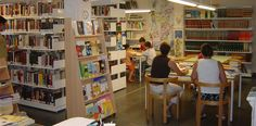Biblioteca Pública Municipal Rosa Regás, Sabiñánigo (Huesca): interior
