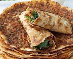 Homade Pizza Recipes, Potato Pizza Recipe, Deep Dish Pizza Recipe, Chicken Pizza Recipes, Healthy Pizza Recipes, Easy Delicious Recipes, Yummy Food, Turkish Recipes, Ethnic Recipes