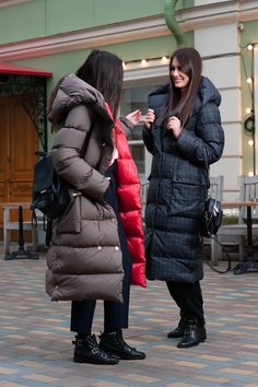 Winter Fits, Winter Looks, Winter Wear, Dope Fashion, Fashion 2020, Womens Fashion, Long Puffy Coat, Nylons, Outfit Invierno