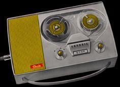 1959 GRUNDIG Cub Recorder #GearShack