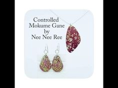 Controlled Mokume Gane Polymer Clay Tutorial by Nee Nee Ree Bone Folder, Wax Paper, How To Make Earrings, Clay Tutorials, Polymer Clay Jewelry, Color Mixing, Jewelry Sets, Drop Earrings, Clay Ideas