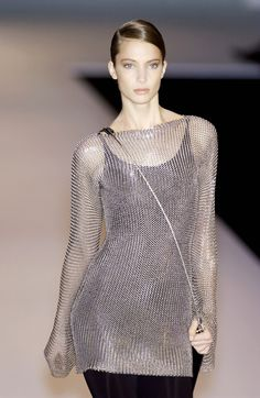 Chain mail shirt for Asha, Paco Rubanne