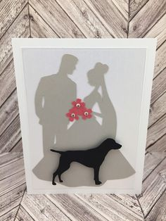 Your place to buy and sell all things handmade Dog Birthday, Birthday Cards, Best Wishes Card, Up Dog, Dog Cards, Dog Wedding, Congratulations Card, Card Sizes, Greeting Cards Handmade