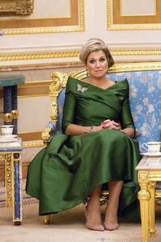 Crown Princess Maxima of the Netherlands on tour in Brunei