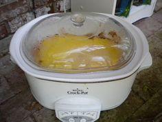 Slow Cooker BBQ Chicken and Cornbread Casserole | 5DollarDinners.com