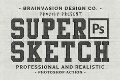 Graphic Design - Graphic Design Ideas  - Super Sketch - Photoshop Action by Brainvasion on Creative Market   Graphic Design Ideas :     – Picture :     – Description  Super Sketch – Photoshop Action by Brainvasion on Creative Market  -Read More –