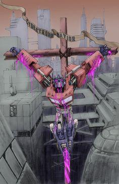 Optimus Cybertron's Savior by TGping on DeviantArt