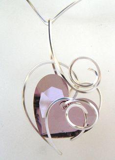 Lilian's one of a kind heart design serise.