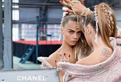Cara Delevingne stars in the new Chanel campaign. See the first image of Cara Delevingne for Chanel