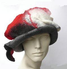 VENTE 25 % de réduction cloche de chapeau feutré par Feltpoint