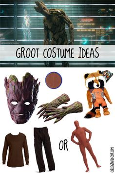 #Halloween13: Guardians of the Galaxy Costume Ideas - I Am Groot
