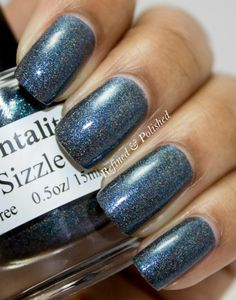 Mentality Nail Polish Sizzle swatch by Refined and Polished.