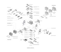 Imagen 17 de 18 de la galería de Taller en la Ciudad / Romero Silva Arquitectos. Diagrama