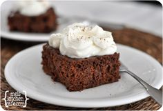 Chocolate Tres Leches Cake - mel's Kitchen (Make one day ahead)  egg free cake