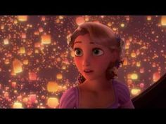 Tangled - I See The Light (OFFICIAL VIDEO) [HD] My favorite moment in any Disney movie. I want release a lantern!!!