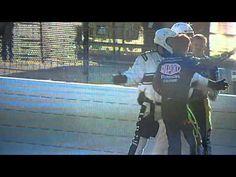 Jeff Burton and Jeff Gordon fight at Texas Motorspeedway