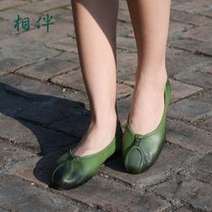 >> Click to Buy << 2017 women's flat casual shoes loafers personalized handmade first layer cowhide soft comfortable ladies shoes  #Affiliate