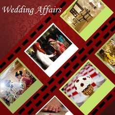 We also make websites for your wedding! We help in organizing wedding details and help in making your wedding day a big success!!