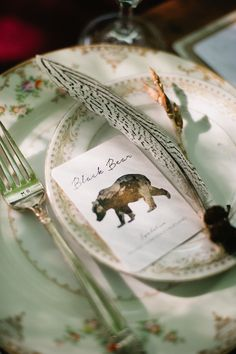 Woodland themed wedding | Meredith McKee Photography | see more on: http://burnettsboards.com/2015/11/marsala-woodland-wedding-inspiration/