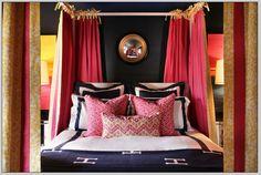 Quadrille Pink ZiZi Lumbar Pillow from Designer Show House by PorterHomeAndGarden on Etsy https://www.etsy.com/listing/246019971/quadrille-pink-zizi-lumbar-pillow-from