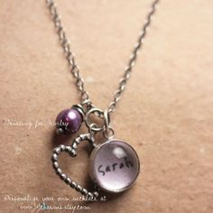 personalized jewelry..... etsy.com