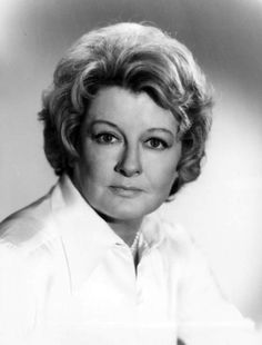 A 1975 promotional photo of Constance Ford as Ada Lucas from the long-running NBC daytime drama Another World. Ford was a cast member from 1967 to 1992.