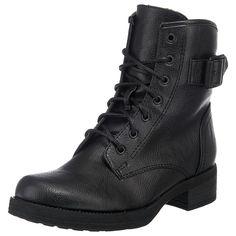 Klassische Schuhe mit kerniger Note liefert Ihnen die Marke ESPRIT mit diesen zeitlosen Ennia Stiefeletten. Das Obermaterial kommt im hochwertigen Lederlook daher und wird durch eine markante Schnalle aufgewertet. Eine praktische Schnürung gibt dem Design einen lässigen Touch und bieten Ihnen gleichzeitig eine optimale Passform. Dank des dezenten Reißverschlusses wird Ihnen außerdem ein schnell...