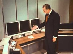 In an episode of the 1967 show The 21st Century, Walter Cronkite gives a tour around the home office of 2001. Most of the predictions were pretty close.