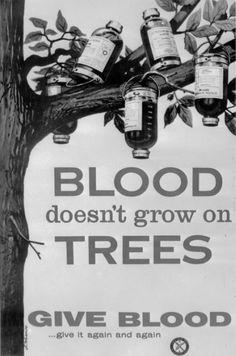 Blood donation is always in season.