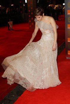 Emma Watson's dress. Beautiful.