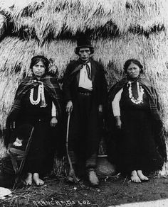 Mapuche indians from Chile