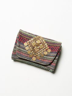 Free People Embellished Travel Case at Free People Clothing Boutique