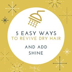 #Studio86Salon Five ways to revive dry hair and add shine.