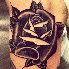 Black rose / Rosa nera