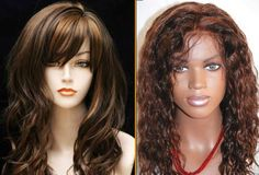 Natural Wigs or Synthetic wigs? Which do you prefer Natural Hair Wigs, Natural Hair Styles, Short Hair Styles, Synthetic Wigs, Wig Hairstyles, Nature, Bob Styles, Naturaleza, Short Length Haircuts