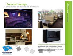 Muebles para hoteles - Bar lounge