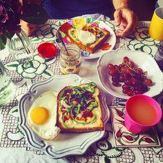 #Breakfast #Saturday #Pizzatoast