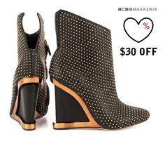 BCBGMaxazria Wane - Black Glazed Goat $30 off! | Brands fashion