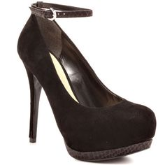 Prestyn - Black Suede - Yvonne's #shoes