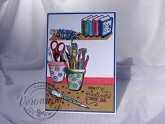 Carte 3D Stampin Up Creativité Toujours - 3D Stampin up card Crafting Forever